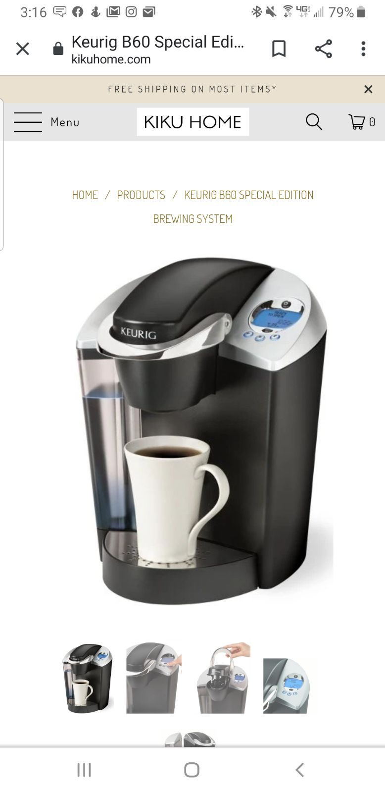 In Great Shape Just Went With A Different Type Of Coffee Maker