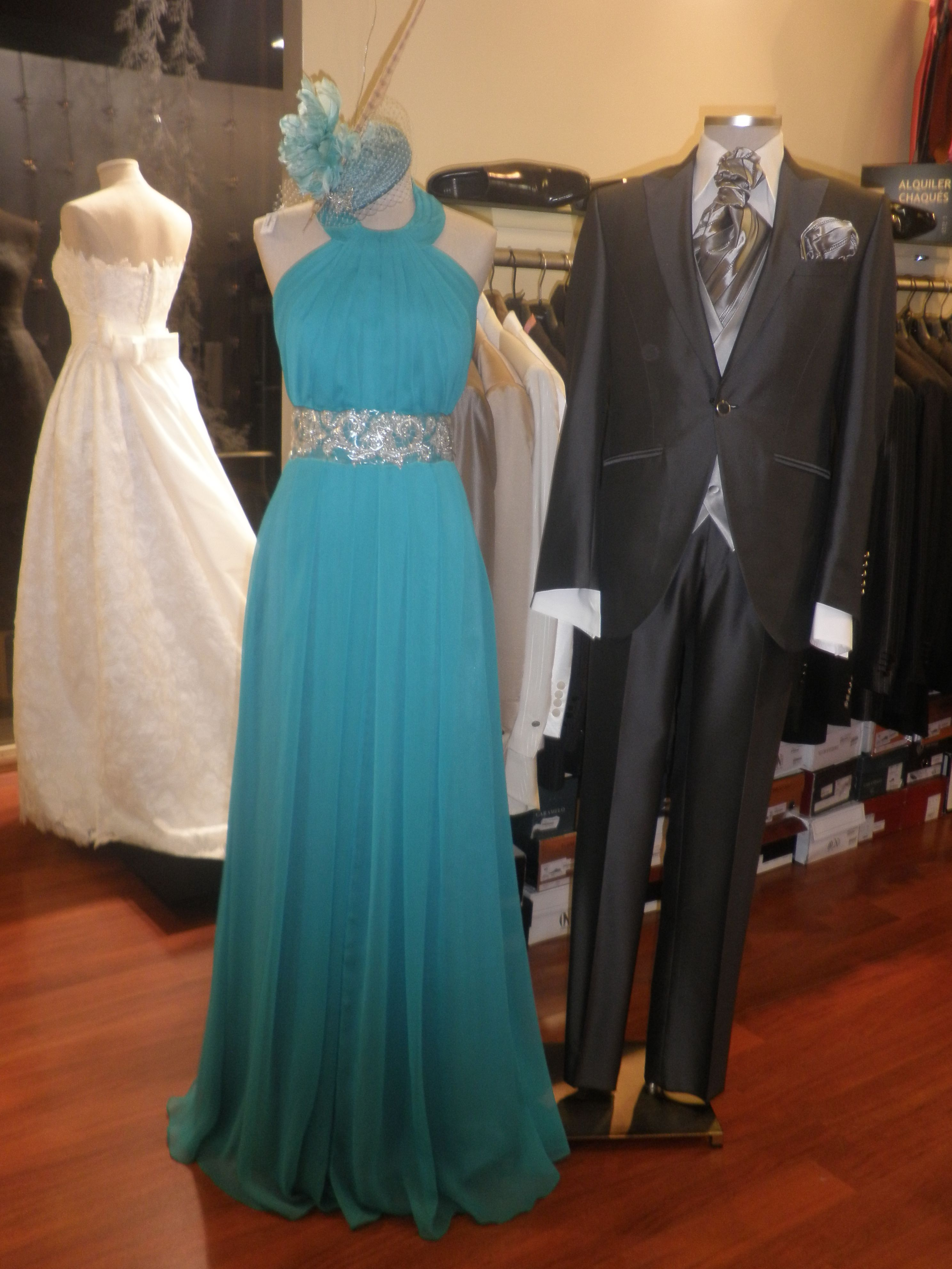 Vestido #Fiesta Couture; #Traje cro Eduardo Bosch de Serrano ...