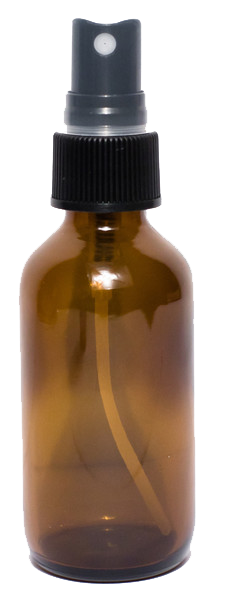 2 Oz Amber Glass Bottle With Spray Top Qty Of 5 Fine Mist Sprayer Glass Spray Bottle Amber Glass Bottles