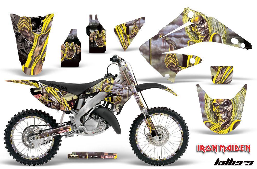 Honda Cr125 Cr250 Graphics Kit 1995 2015 Motocross Graphic Kits