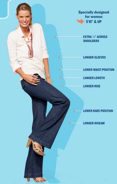 How To Dress For Tall Women | Tall Fashion | Pinterest