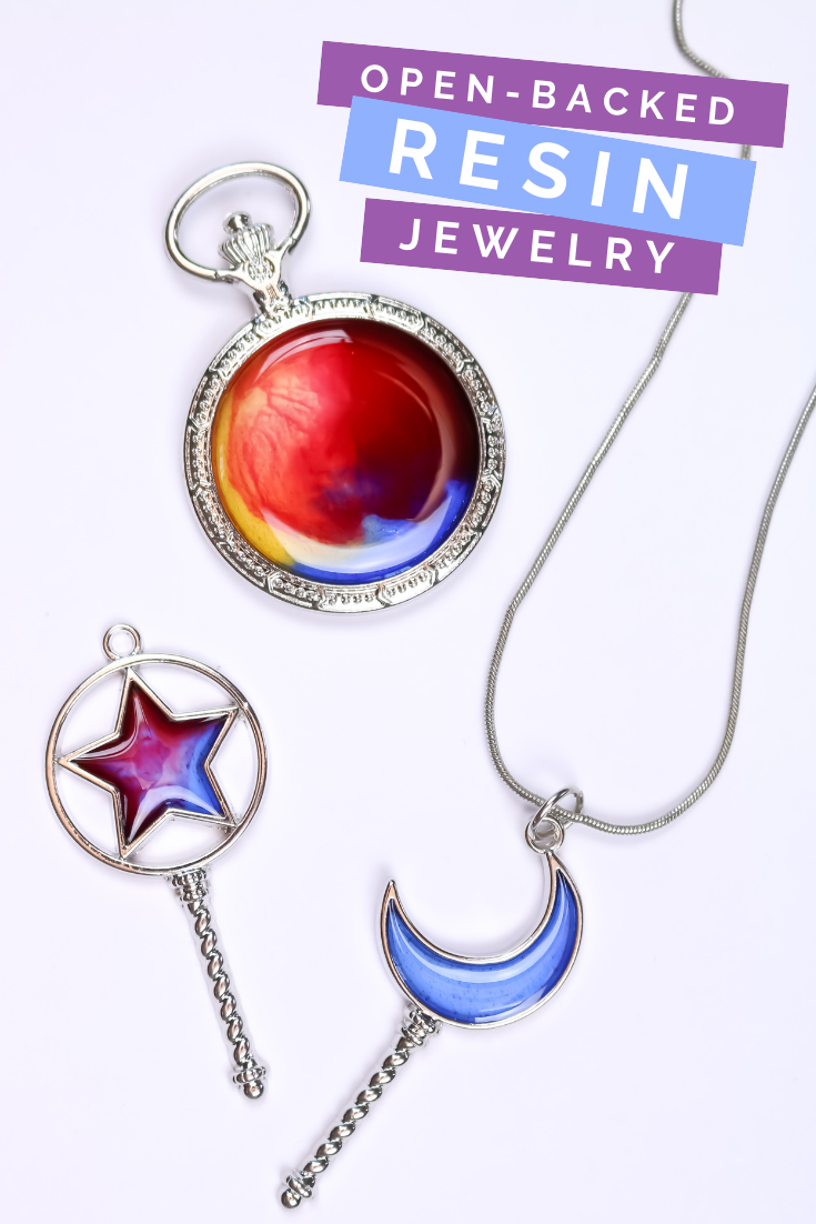 ADDING RESIN TO OPEN-BACKED JEWELRY Jewelry | Mad in Crafts