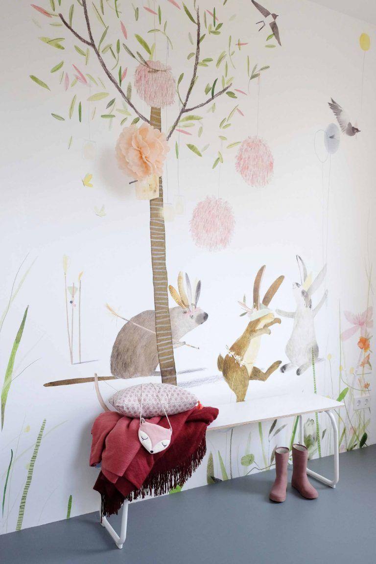 Behang Boom Kinderkamer.Eijffinger Behang Met Boom Montessori Room In 2019