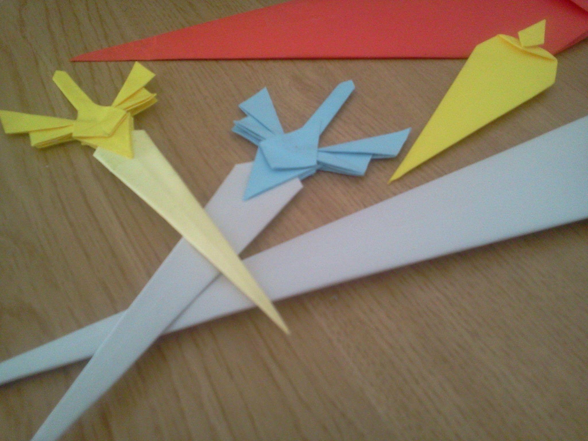 Daga De Origami Tutorial 2o Parte