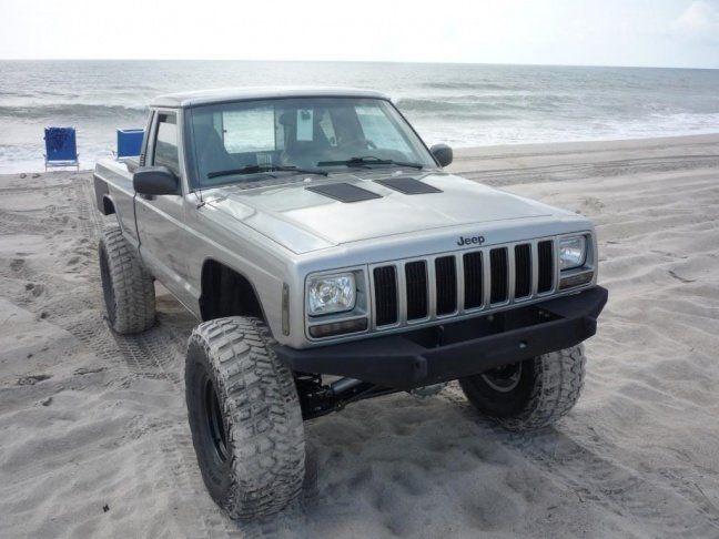 Mj With 97 Up Front Clip Comanche Jeep Comanche Jeep Trailer