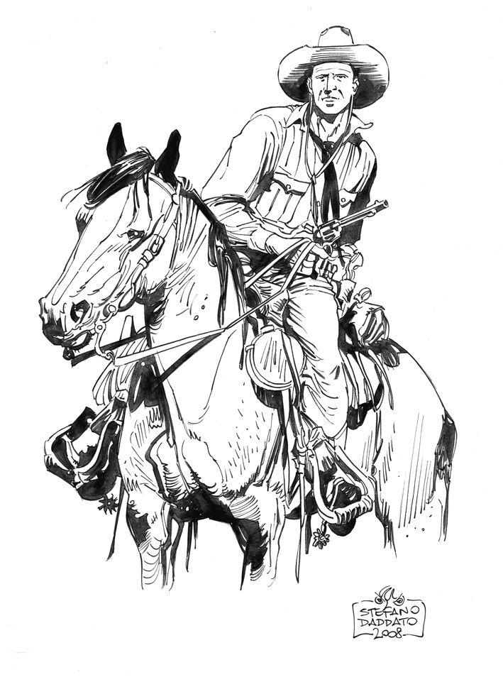 Tex Willer Arte Sequencial Desenhos Velho Oeste