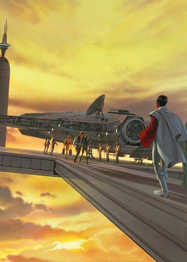 "Official Star Wars Vintage Cloud City #Displate explore Pinterest""> #Displate artwork by artist ""Star… | Displate thumbnail"