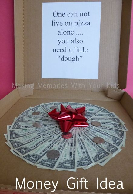 Money gift idea fun gift idea for graduation birthday for Gifts for first apartment