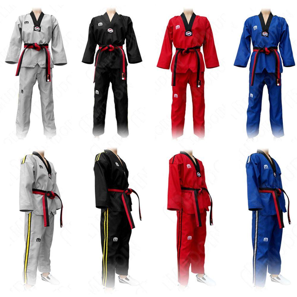 Mooto Corea Taekwondo Poomsae WT Uniforme Taebek High Dan TKD MMA Arti Marziali Karate Judo Kick Boxing