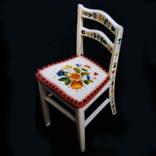 Children S Chair By Christina Hand Painted Chairs