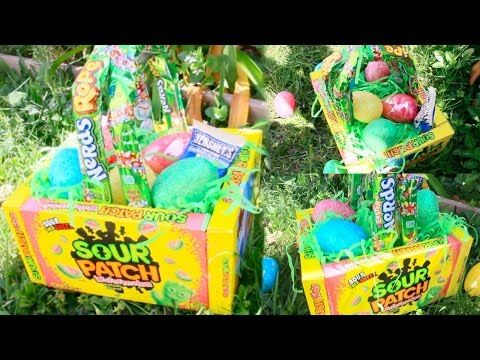 Diy edible candy box easter basket tutorial pinterest inspired diy edible candy box easter basket tutorial pinterest inspired craft youtube negle