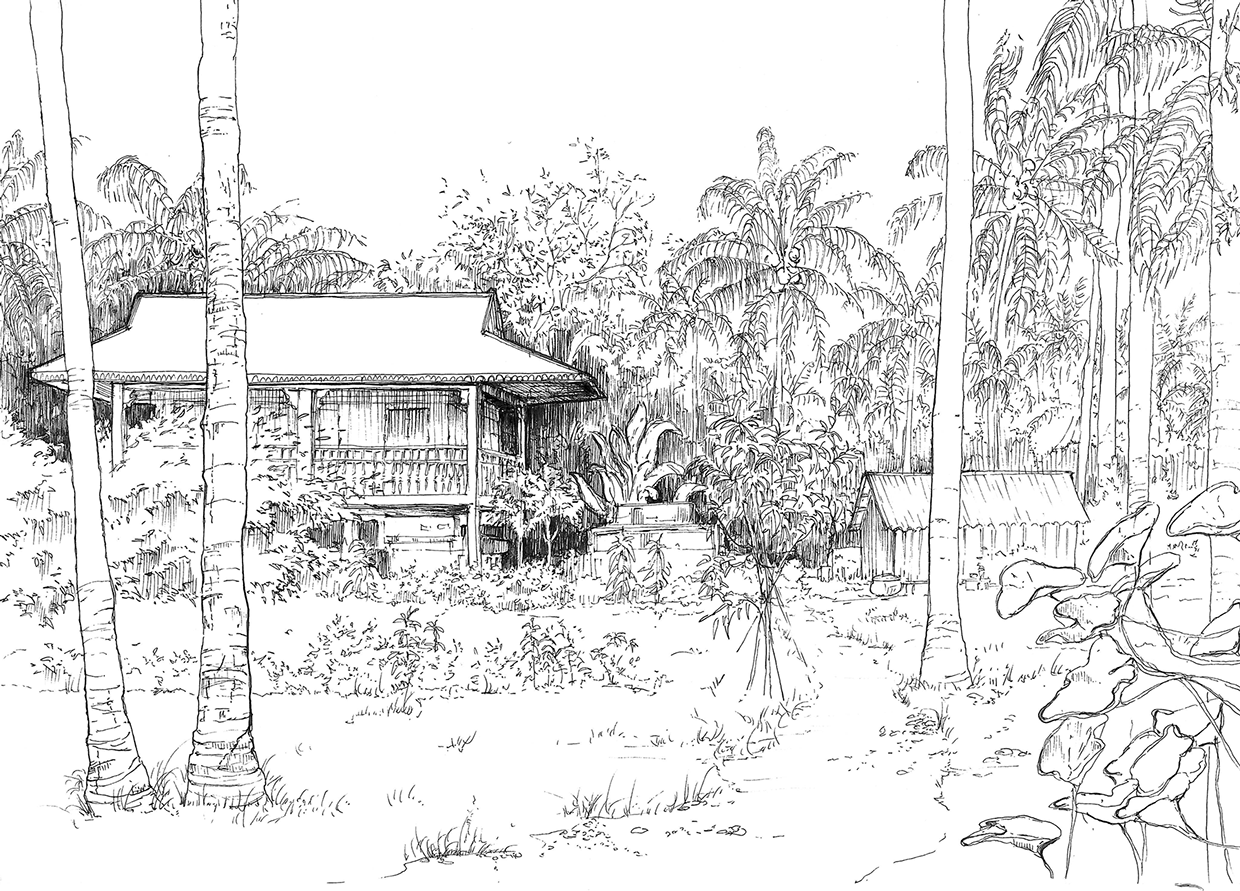 Cambodian Coloring Pages