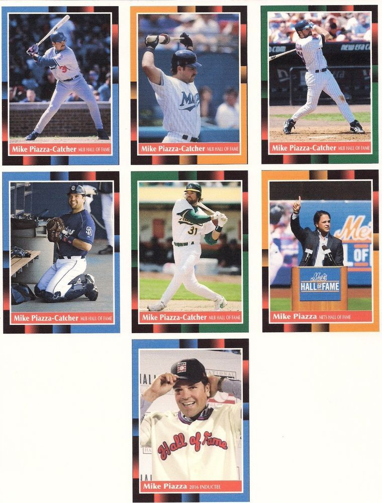 e731e3a6f Details about Mike Piazza 14 Card Lot Filled With Inserts See Photos ...