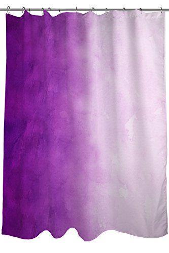 Thumbprintz Fabric Shower Curtain Purple Ombre Thumbprintz Http Www Amazon Com Dp B00jy49fdq Ref Cm Sw R With Images Ombre Shower Curtain Purple Shower Curtain Curtains