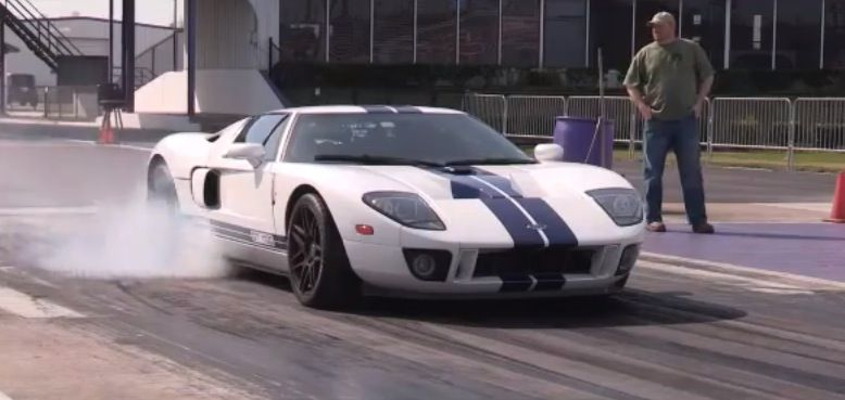2005 Ford Gt Supercharged Twin Turbo Nitrous 1 4 Mile Drag Racing