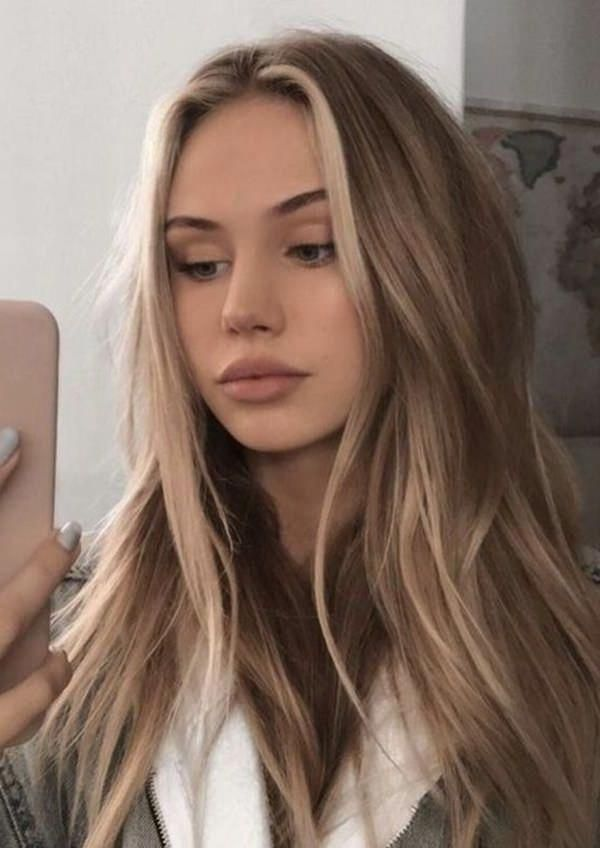 20 Dark Blonde Balayage Hair Color Ideas To Try in 2019 – Latest Hair Colors –  …