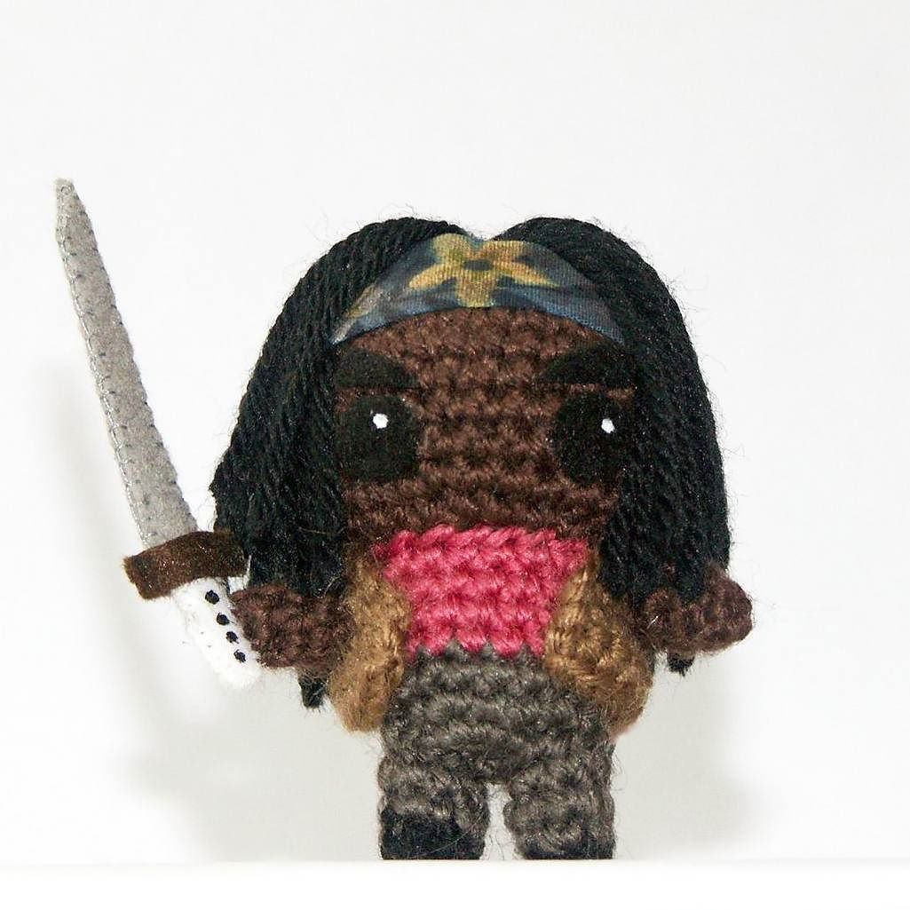 datpilz:: Michonne from The Walking Dead #häkelfigur #häkeln ...