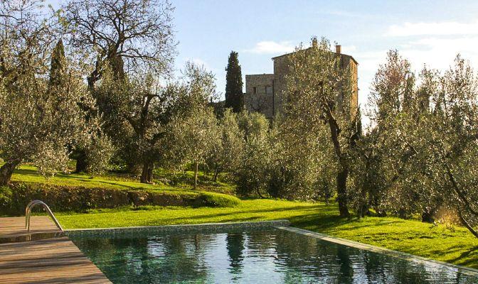 Castello di Vicarello, Cinigiano, Italy | boutique-homes.com