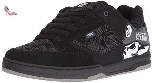Etnies The Scam, Chaussures de Skateboard Homme, Gris (Grey/Gum 367), 41.5 EU