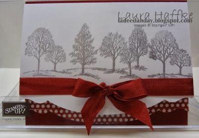 It's a La Dee Dah Day!: SILVER WINTER TREES