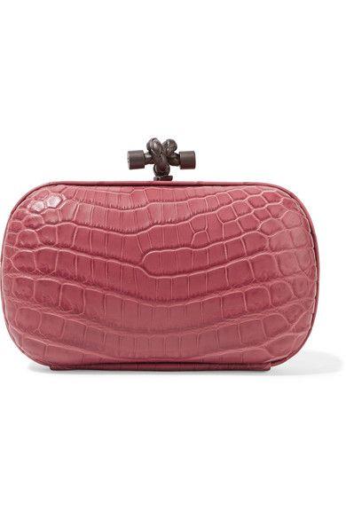 b1299799042e BOTTEGA VENETA The Knot Crocodile Clutch.  bottegaveneta  bags  clutch   hand bags