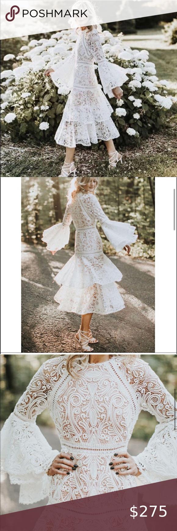 Lace Midi Dress Brand New In 2020 Dress Brands Lace Midi Dress Dresses [ 1740 x 580 Pixel ]