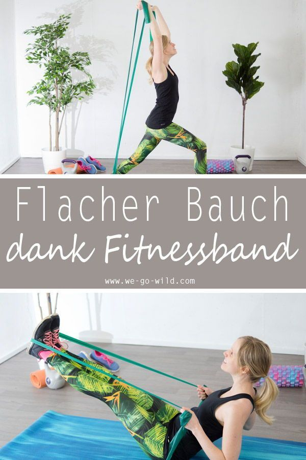 17 effektive Theraband Übungen: Gymnastikband Workout für zuhause #pilatesworkoutroutine Das Fitness...