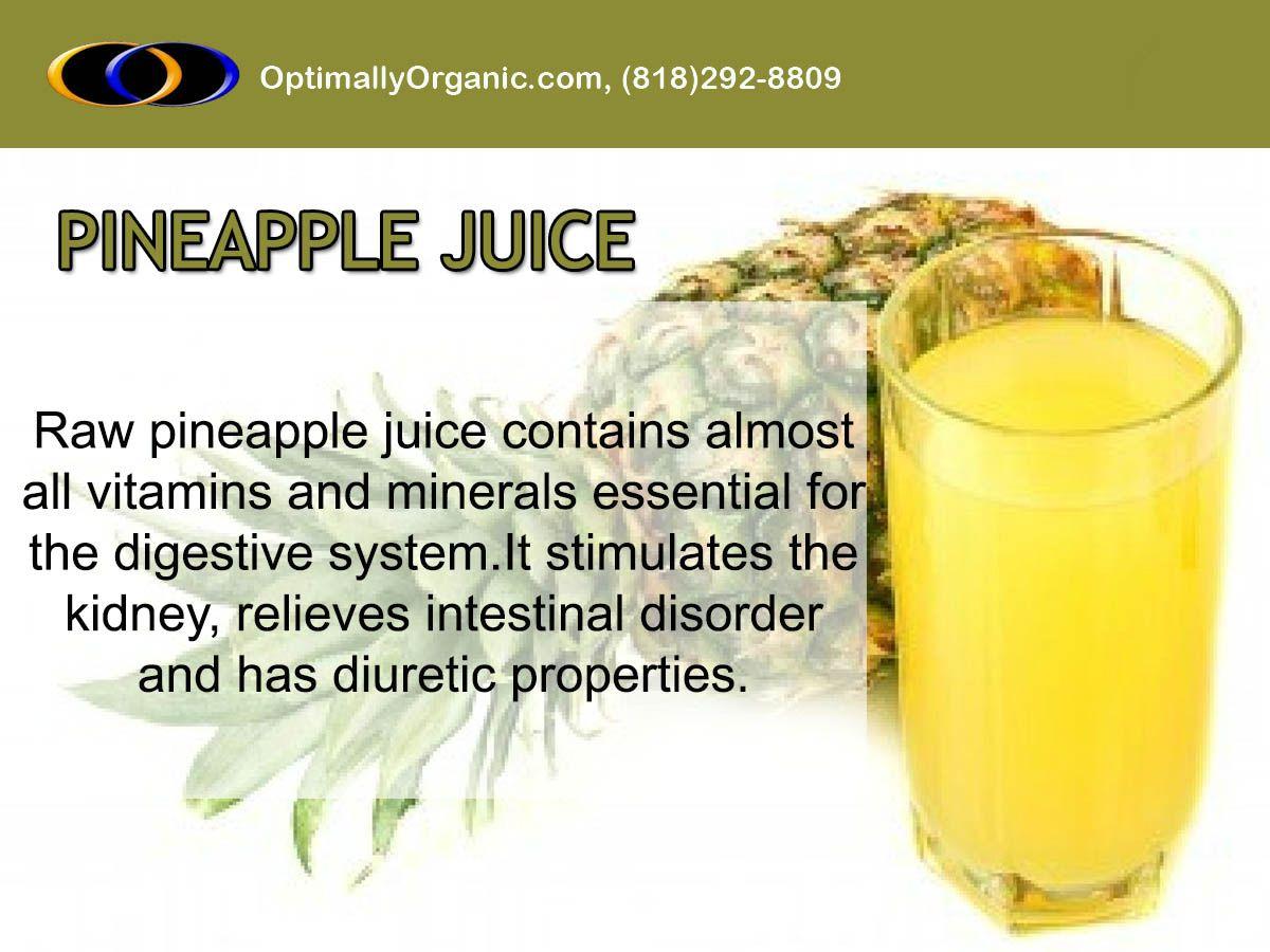 Drinking pineapple juice work wonders on skin & health and