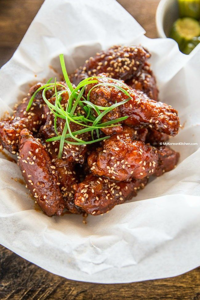 Sweet spicy and sticky korean fried chicken mykoreankitchen sweet spicy and sticky korean fried chicken mykoreankitchen koreanfood kfc forumfinder Image collections