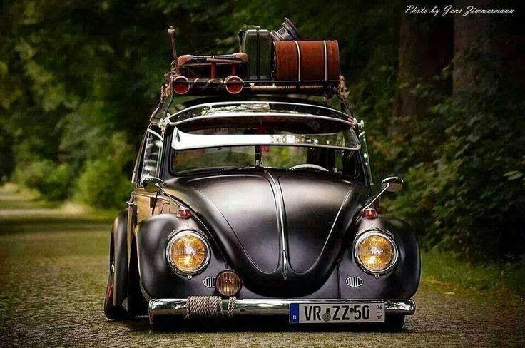 Fusca Preto Euro Style Carros Tunados E Antigos Cars Pinterest