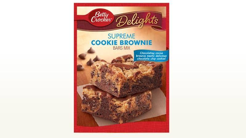 Cookie brownie mix.