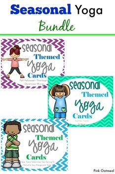 seasonal yoga bundle  yoga for kids mindfulness for kids