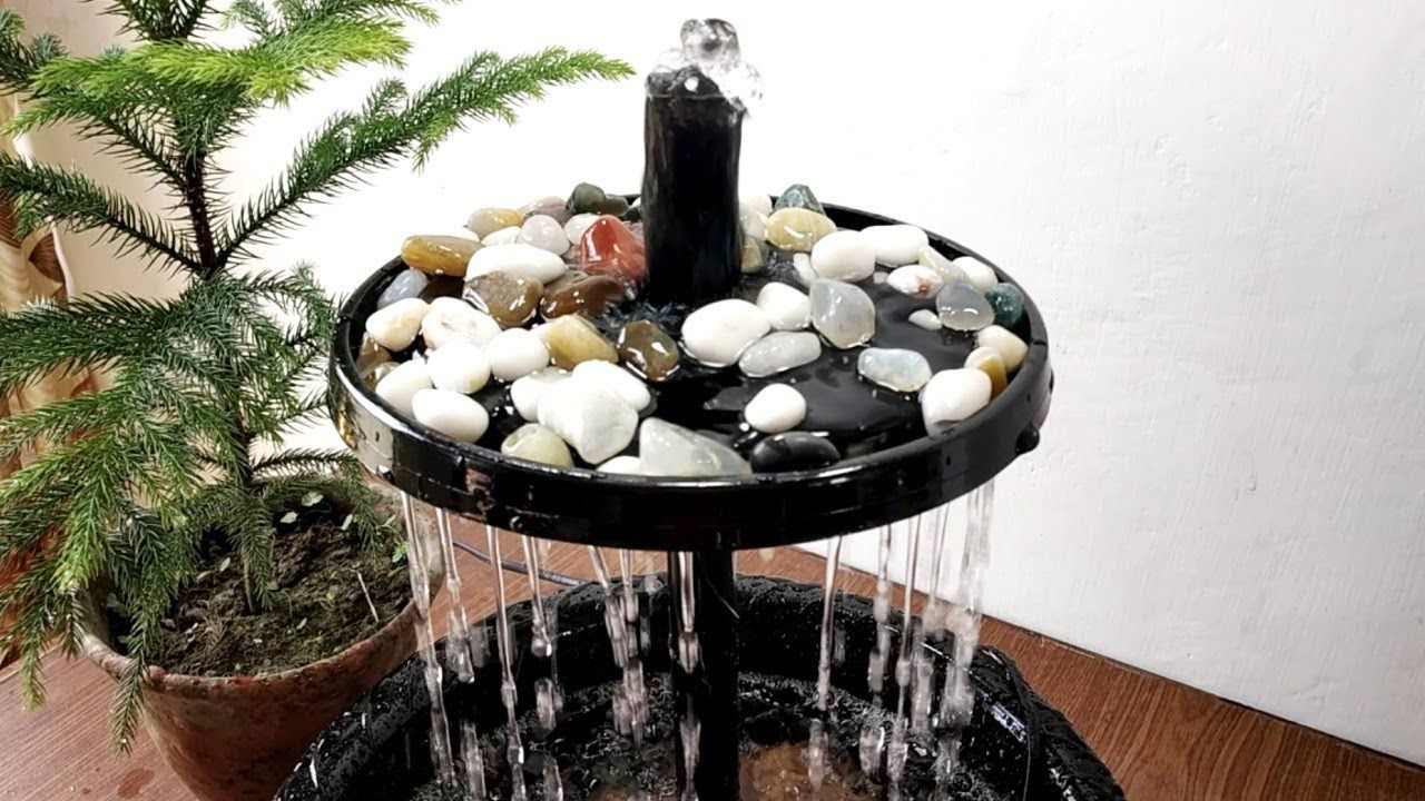 Fabriquer Une Fontaine Zen how to make beautiful rain forest waterfall fountain very