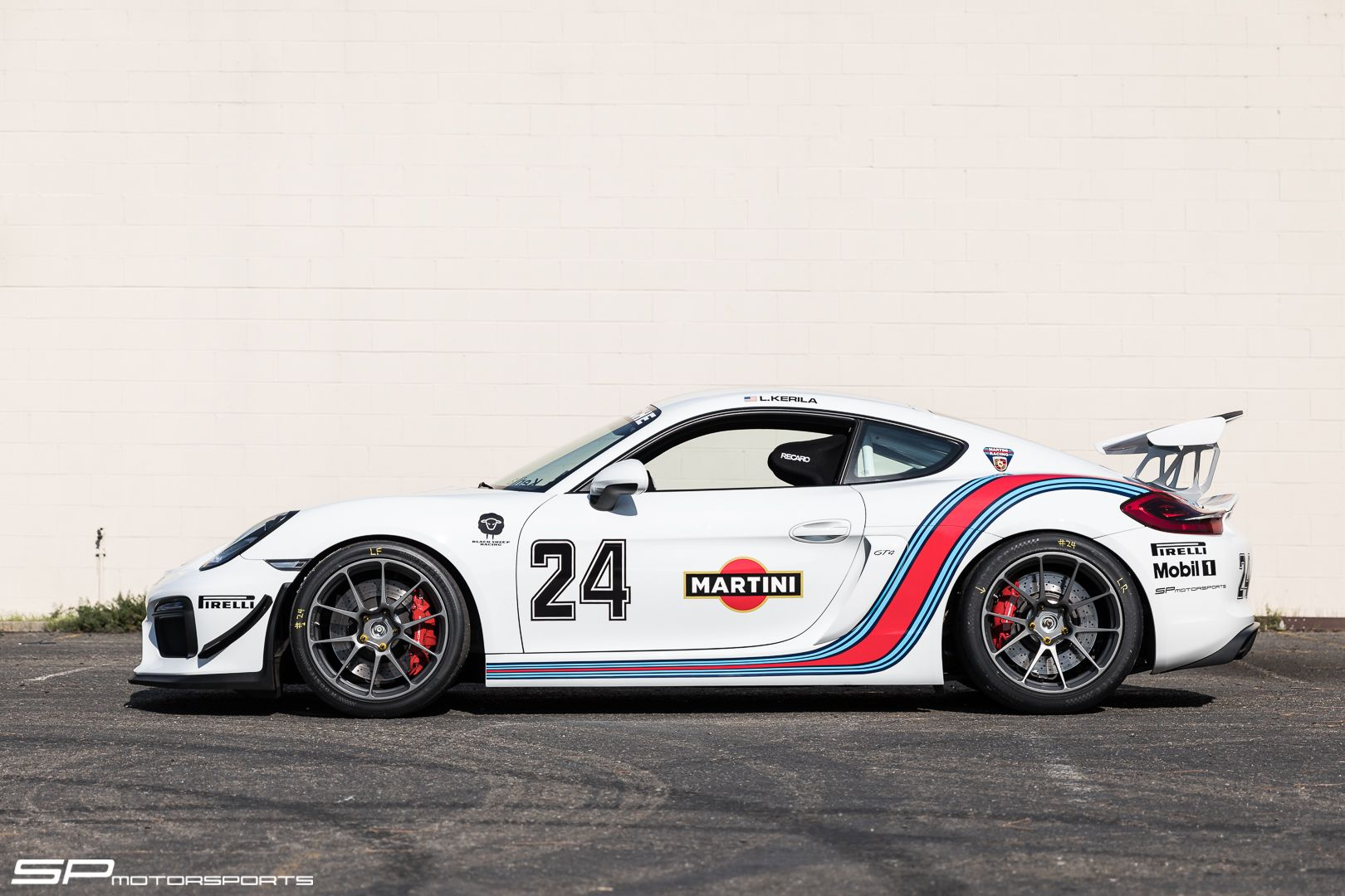 Martini Racing Themed Porsche Cayman GT4 Track Project