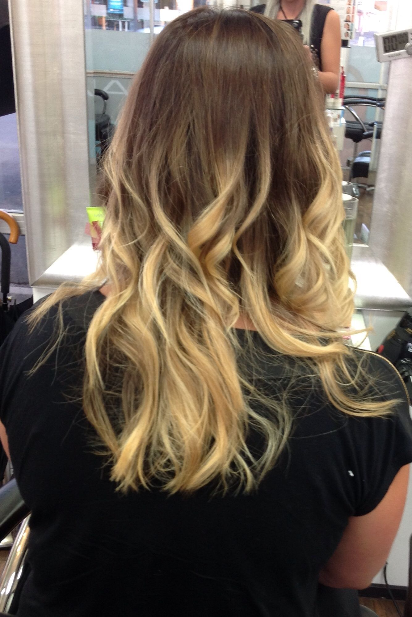 Colouring back full blonde to Chocolate / Blonde Ombré | Colour ...