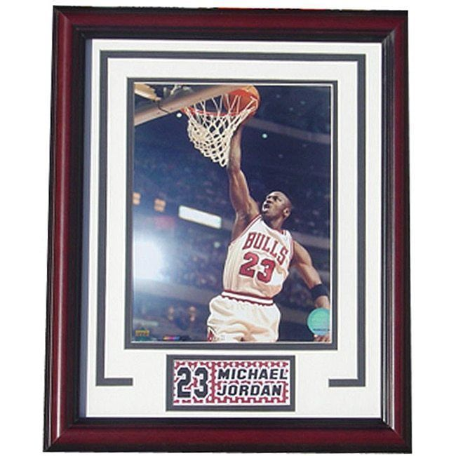 4f7e9714b3f Man Cave Decor Michael Jordan Chicago Bulls NBA Sports Plaque 23 Licensed  Print  Encore