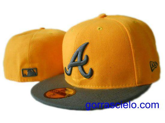 Comprar Baratas Gorras Atlanta Braves Fitted 0071 - Gorrascielo.com