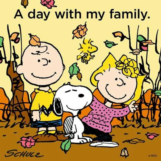 A day with my family.