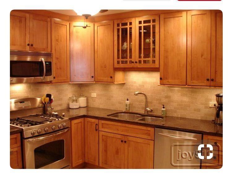 Condo kitchen by Rebecca Soupir on Home | Maple kitchen ...