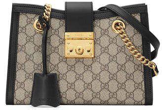 b15748886f74 Gucci Padlock Small GG Supreme Canvas Shoulder Bag | SHOES AND ...