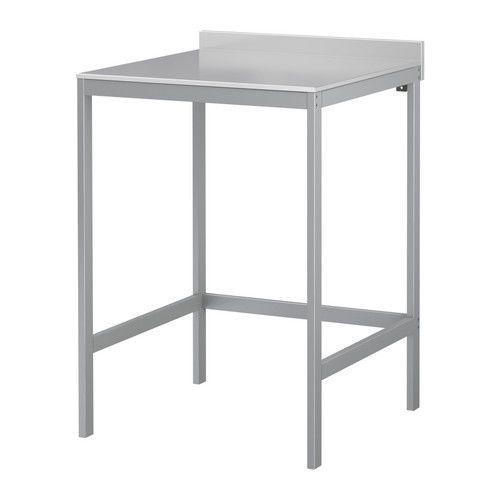 UDDEN Arbeitstisch Edelstahl Küchentisch IKEA NEU+OVP in Business ...