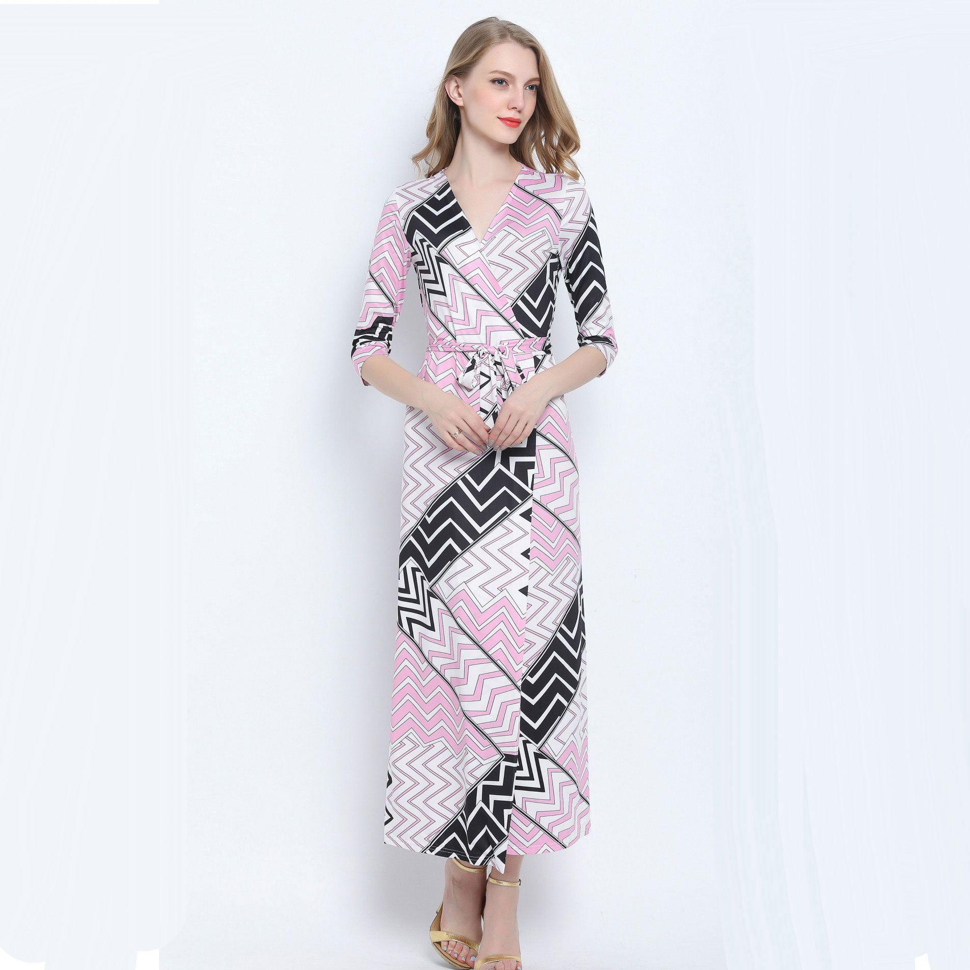 Click to buy ucuc robe longue femme summer maxi beach dress women