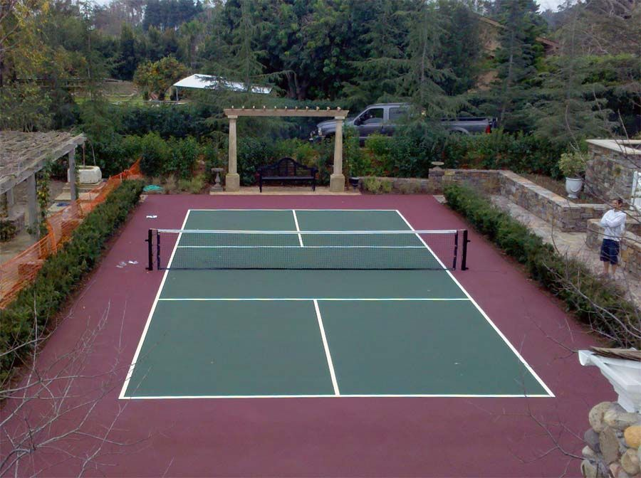 Residential Tennis Courts From Ferandell Inc