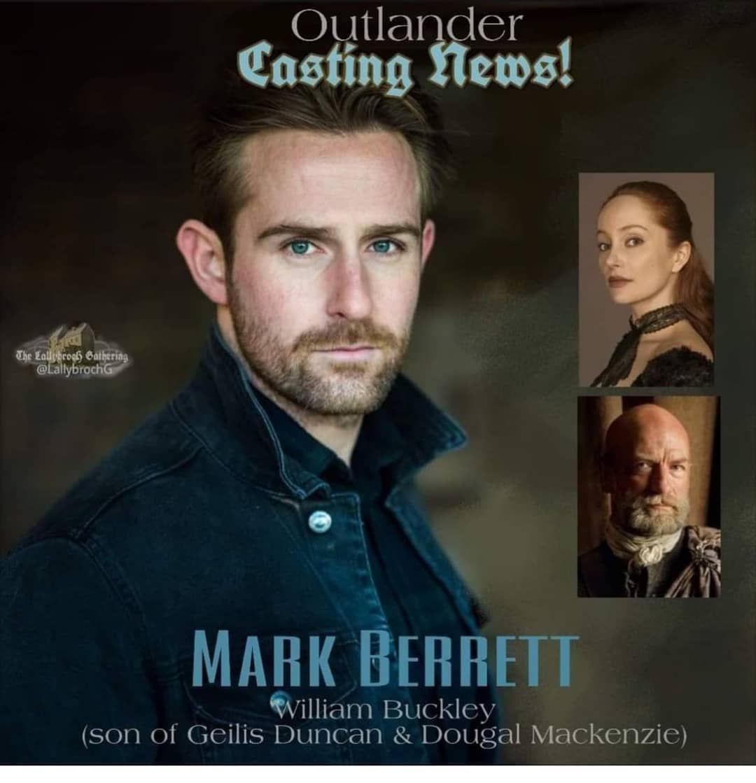 ضيف جديد يشترك في الموسم الخامس من مسلسل اوتلاندر الاسكتلندي Mark Barrett سيقوم بأداء دور وليم ماكنزي Outlander Outlander Quotes Outlander News