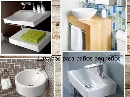 Mobiliario y lavabos para ba os peque os lavabos para for Lavabo bano pequeno