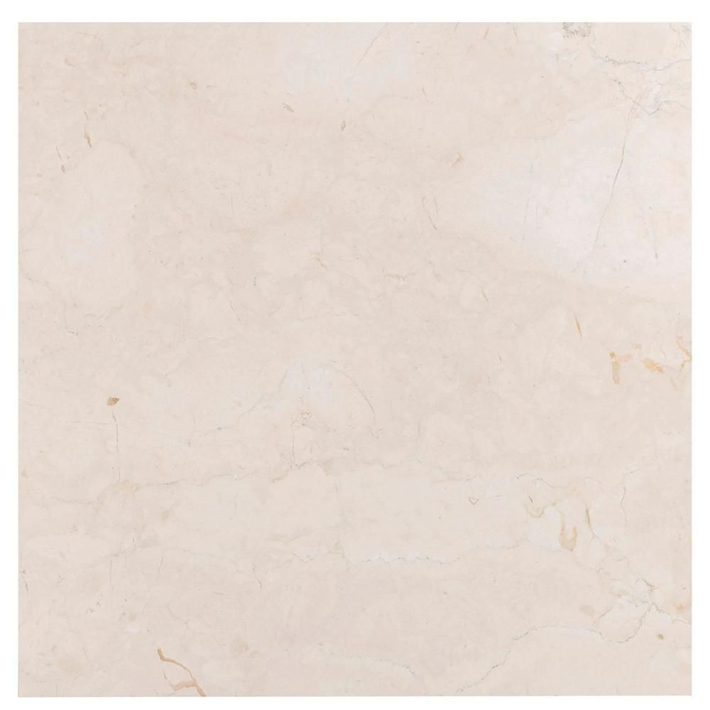 Tuscany Cream Semi Polished Marble Tile Polished Marble Tiles Textured Carpet Marble Tile