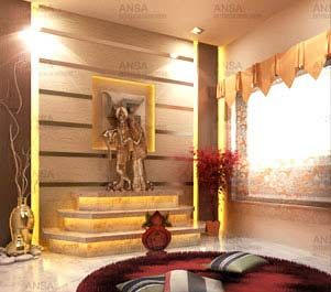 Pooja Room Decor Ideas Home, Tips, Photos, Corner Puja Room Designs Part 31
