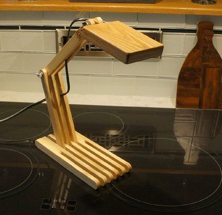 Led Desk Lamp Lumberjocks Projects Led Desk Lamp Desk Lamp