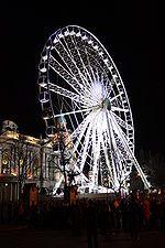 The Belfast Wheel...Belfasts version of the London Eye.