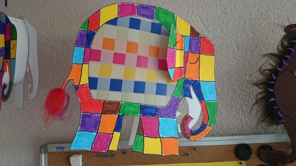 elmar laterne kindergarten elmar elefant elmar und elefant basteln. Black Bedroom Furniture Sets. Home Design Ideas